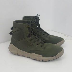 "Nike SFB 6"" NSW Leather Mens Boots Cargo Green"